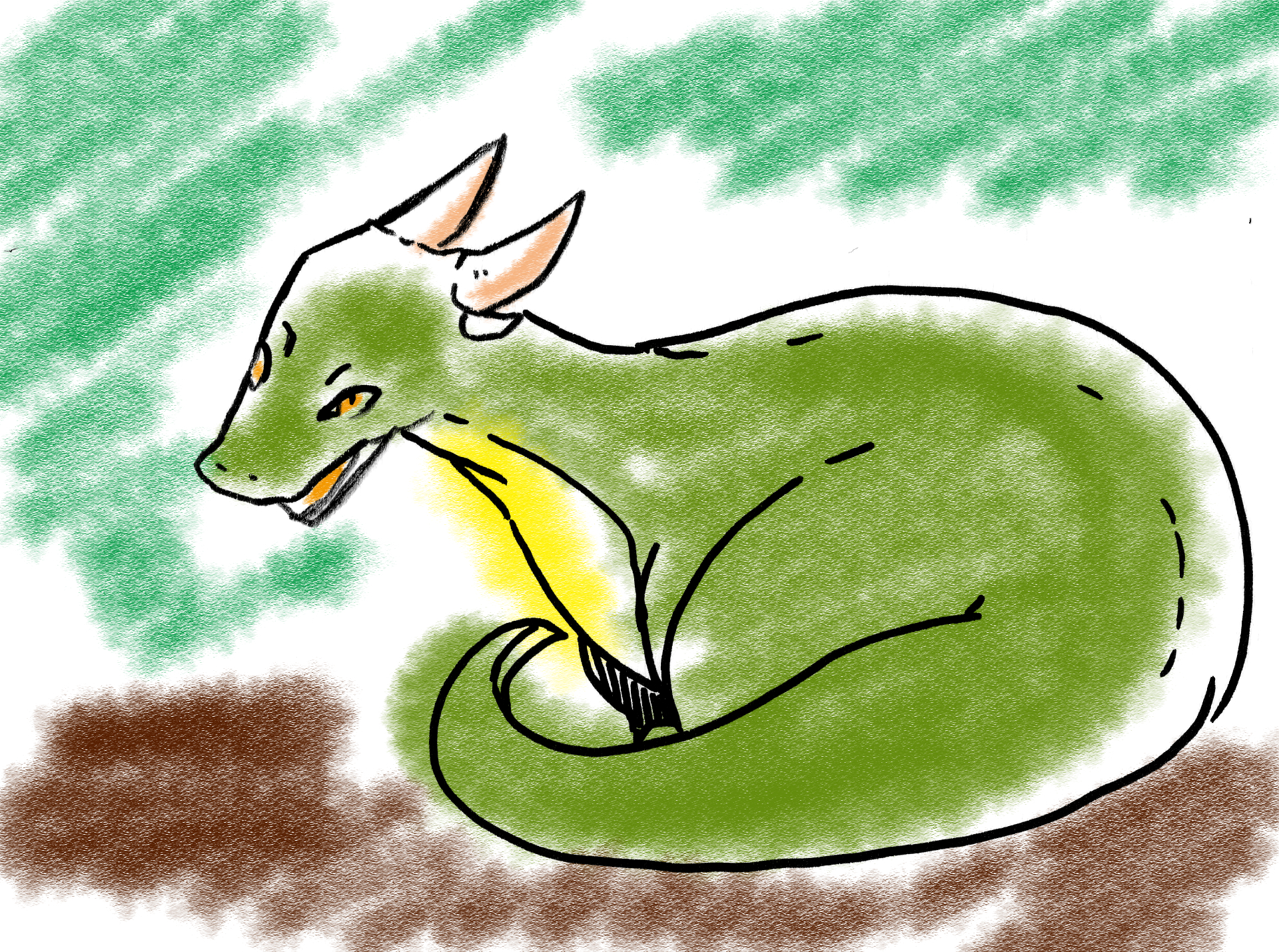 ドラゴンをイラストで描くのは難しい?極力簡単な描き方