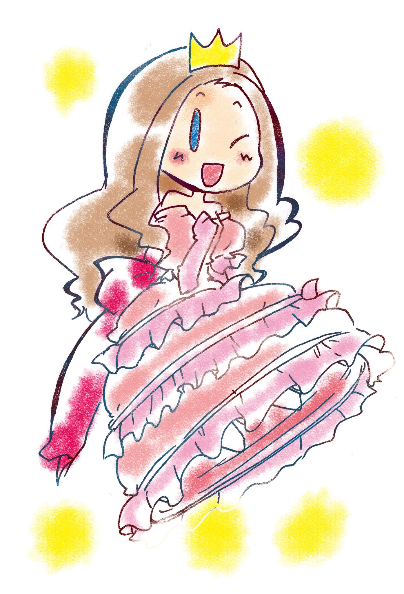 ドレスを着せて華やかに!!基本的なドレスイラストの描き方