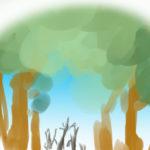 これもまた一興「枯れ木」の描き方を考えよう!!