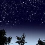 夜空を見よう!!星空の描き方!