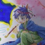 アナログイラストメイキング~コピック編